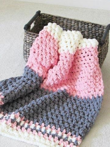 diseños de mantas tejidas a crochet