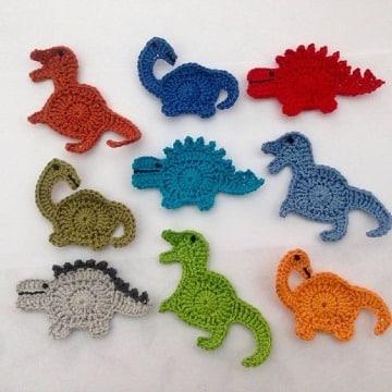 figuras tejidas a crochet para niños