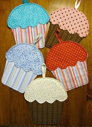 imagenes de agarraderas de tela para cocina