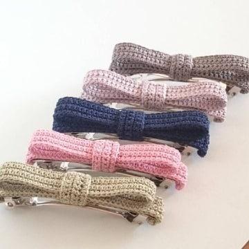 modelos de broches tejidos para niñas