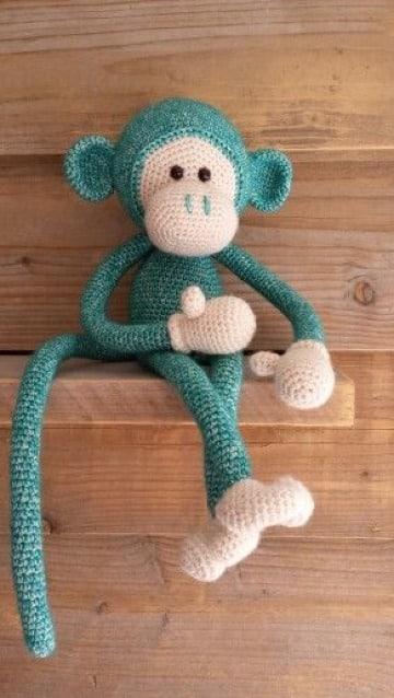 monitos tejidos crochet paso a paso