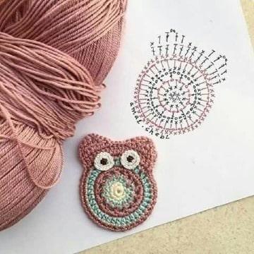 patrones de lechuzas a crochet paso a paso