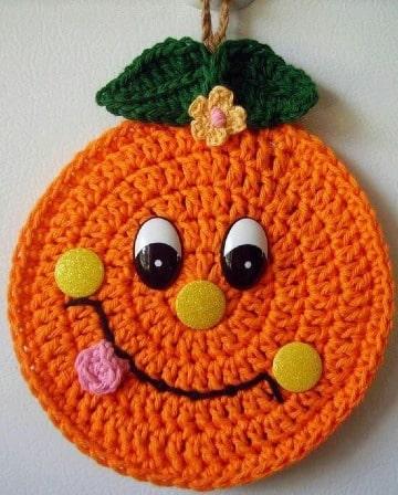 tejidos artesanales en crochet para cocina