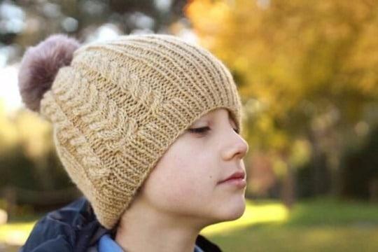 tejidos de gorros a crochet para niños