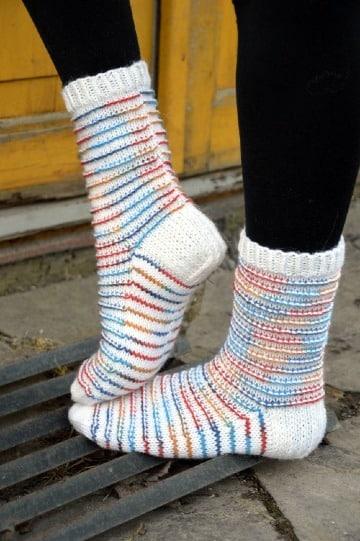 calcetines de lana para el frio para chicas
