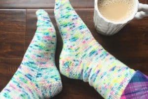 5 pasos para hacer calcetines de lana para el frio