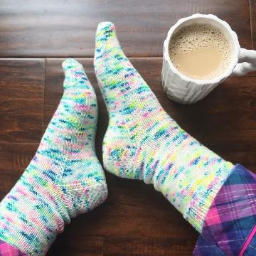 como tejer calcetines de lana para el frio