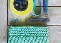 5 pasos para crear bolsos de mano de ganchillo