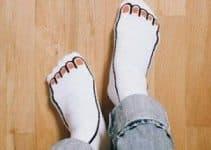 4 estampados en calcetines divertidos para hombre