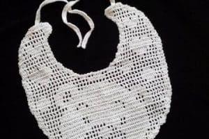 2 ideas creativas en baberos tejidos a gancho