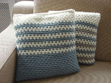 imagenes de cojines de colores a crochet