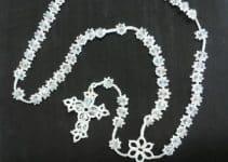 7 pasos para hacer diversos rosarios tejidos a gancho