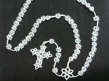 imagenes de rosarios tejidos a gancho