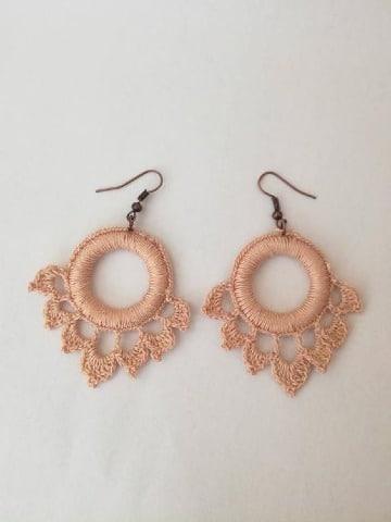 imagenes de zarcillos tejidos a crochet