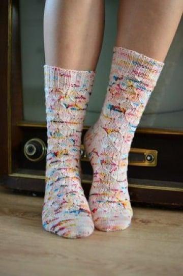 modelos de calcetines de lana para el frio