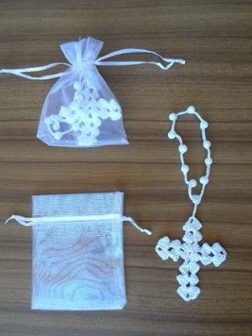 modelos de rosarios tejidos a gancho