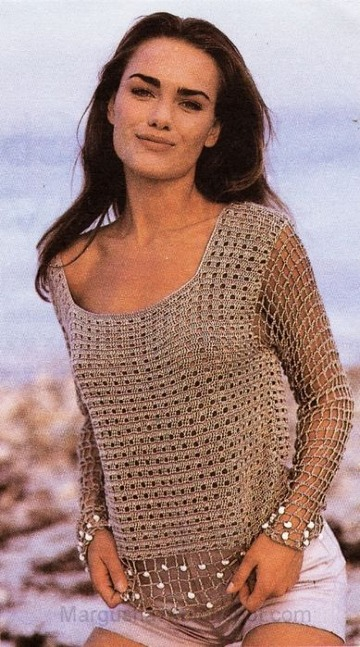 modelos de tejidos a crochet playeros