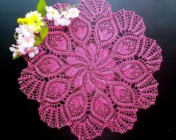 carpetas en crochet redondas originales