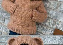 5 pasos para hacer chompas para niños con capucha