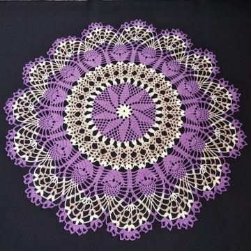 comk hacer carpetas en crochet redondas