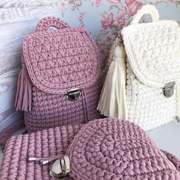 como hacer bolsos y carteras a crochet