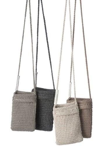 diseños de bandoleras tejidas a crochet
