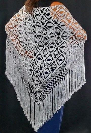 flecos tejidos a crochet paso a paso