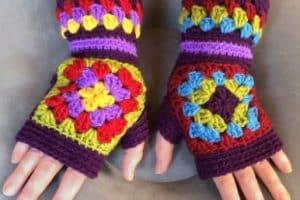 Pasos simples para guantes tejidos para niños invierno 2019