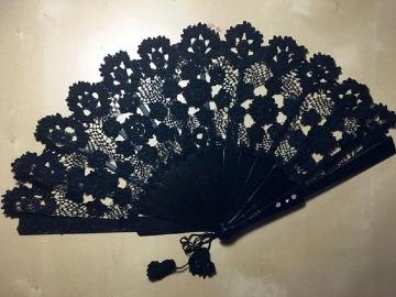 imagenes de abanicos tejidos a gancho