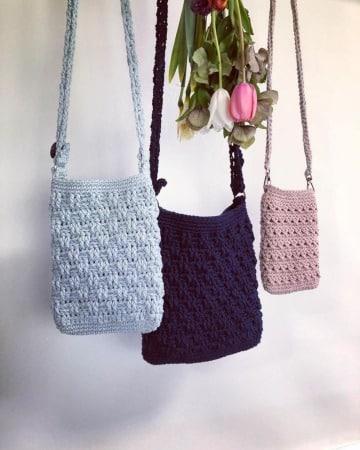 modelos de bandoleras tejidas a crochet)