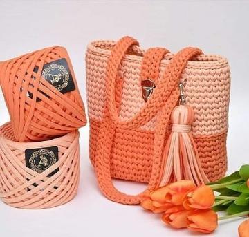 modelos de bolsos y carteras a crochet