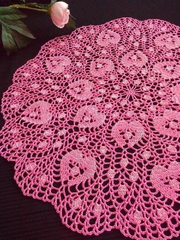 modelos de carpetas en crochet redondas