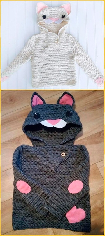 modelos de chompas para niños con capucha