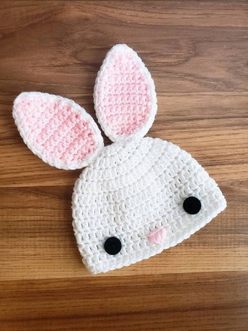 modelos de gorros con orejas para bebe