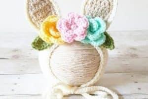 6 pasos para hacer orejas de conejo a crochet