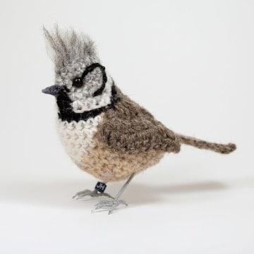 aves tejidas a crochet paso a paso