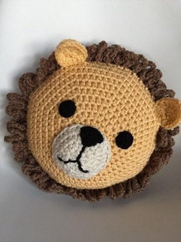 como hacer cojines para niños a crochet