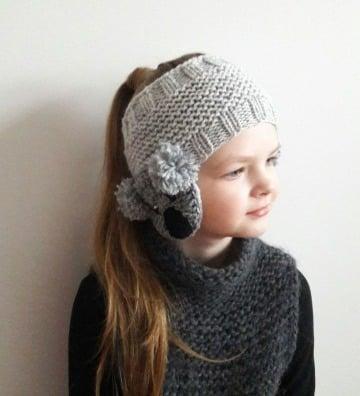 como hacer vinchas tejidas para niñas