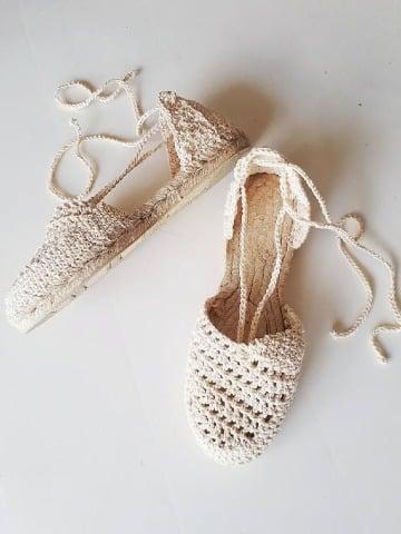 diseños de alpargatas tejidas a crochet