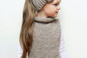 Geniales detalles en vinchas tejidas para niñas 2019