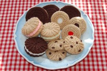 galletas tejidas al crochet