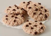 Excelentes galletas tejidas al crochet para decorar 2019