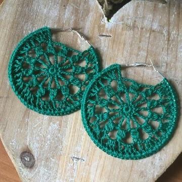 imagenes de argollas tejidas a crochet