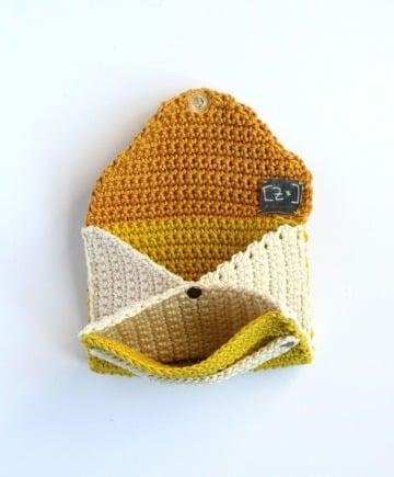 imagenes de billeteras tejidas a crochet