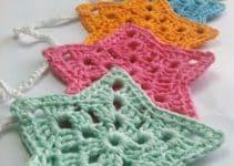 7 pasos para crear estrellas tejidas a crochet