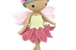 3 tipos de alas para hadas tejidas a crochet