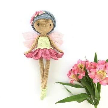 lindas hadas tejidas a crochet