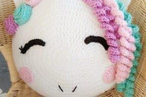 6 pasos para hacer cojines para niños a crochet