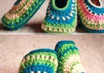 5 pasos para hacer geniales babuchas tejidas a crochet