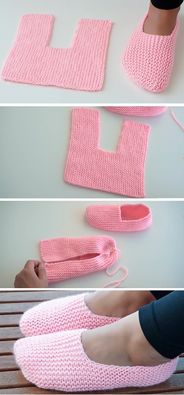 babuchas tejidas a crochet paso a paso